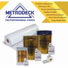 Metrodeck® GRP Roofing kit  20m²