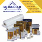 Metrodeck® GRP Roofing kit 45m²