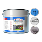 Grey 10kg Liquid Roof Sealant Paint - Flat Roof Repair Liquid - CrylicRoof High Performance waterproof coating