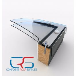 900x600 Skylight Flat Roof Mardome Clear Dome Roof Light