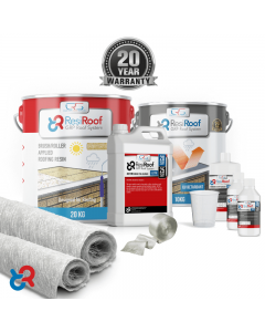 15m² 450g ResiRoof® Fibreglass Roof Kit