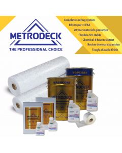 Metrodeck® GRP Roofing kit  25m²