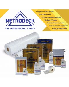 Metrodeck® GRP Roofing kit 35m²