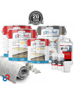 40m² 450g ResiRoof® Fibreglass Roof Kit