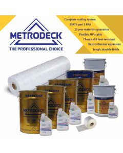 Metrodeck® GRP Roofing kit 50m²