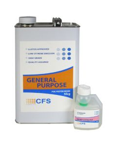 GP10 General Purpose Polyester Resin 5kg (Resin A)