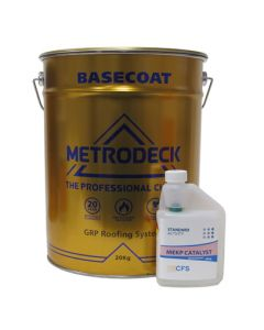 Metrodeck Roofing Base 13302 Polyester Resin 20kg