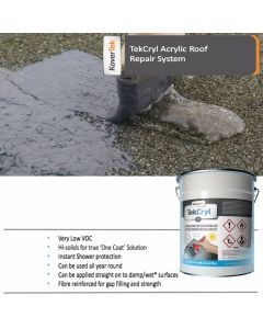 5m2 TekCryl Acrylic Repair coating kit