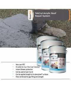 25m2 TekCryl Acrylic Roof Repair kit