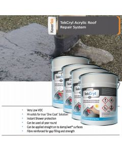 40m2 TekCryl Acrylic Roof Repair kit