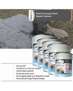 45m2 TekCryl Acrylic Roof Repair kit