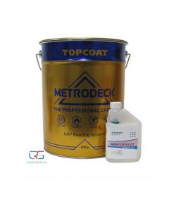 Metrodeck Roofing Topcoat BS18B25 Grey 20kg