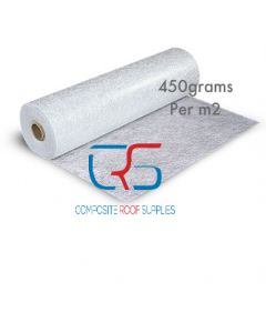 Fibreglass matting 450g 2kg Roll 4.4m²