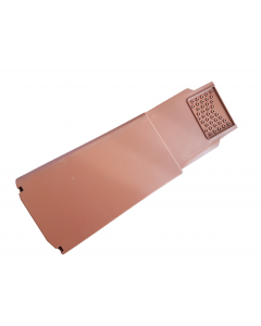 Terracotta  Dry Verge (Right Hand) Gable and Apex Tile Plastic Capping's