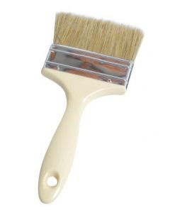 12 pck Wood Handle Economy Laminating brush 100mm