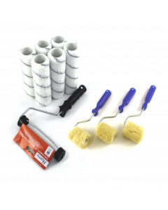 3 & 6 piece Resin/Topcoat Applicator Roller set