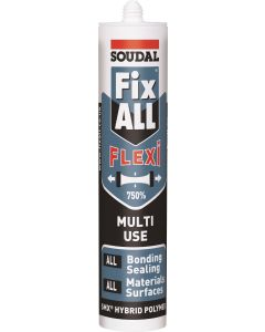 Soudal fix All PU Sealant Grey  310ml Trim adhesive