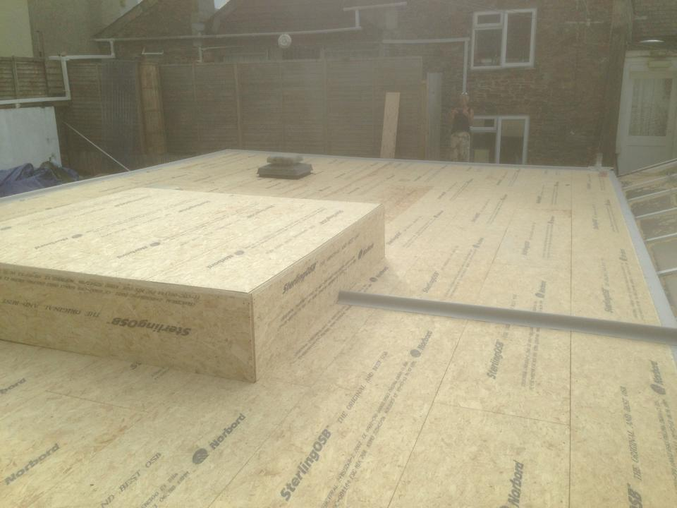 What are the best boards for a GRP flat roof