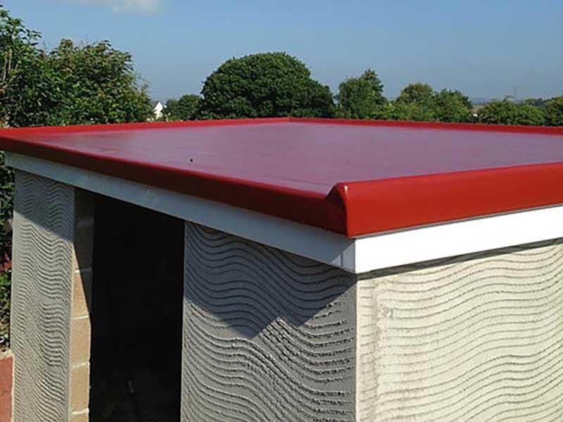 Colour GRP ROOF