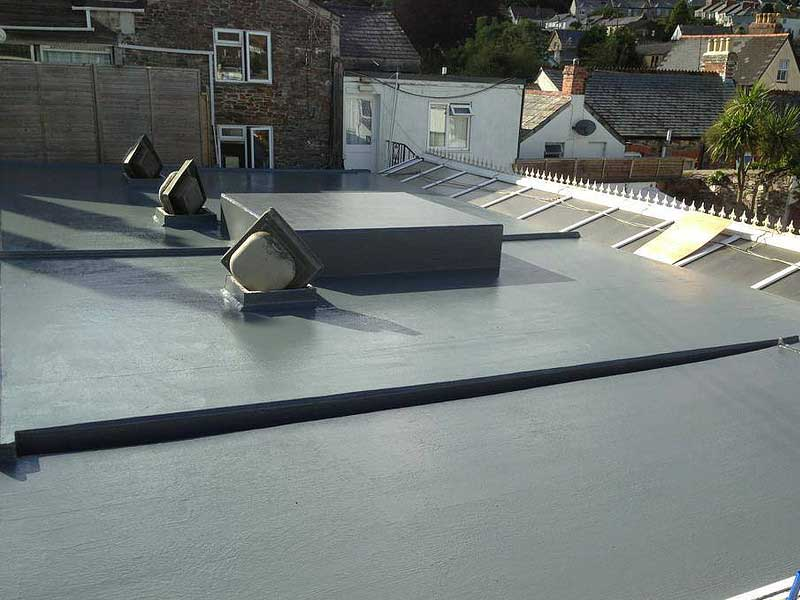Commercial Fibreglass Roofing